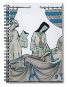 Last Rites, Middle Ages Spiral Notebook