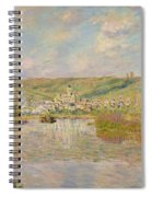 Late Afternoon - Vetheuil Spiral Notebook