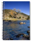 Late Autumn At The Arkansas Spiral Notebook