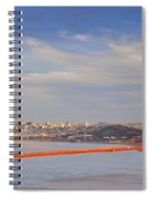 Late Evening Over San Francisco Spiral Notebook