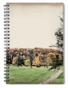 Late Fall In Waynesville Spiral Notebook