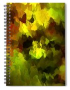 Late Summer Nature Abstract Spiral Notebook