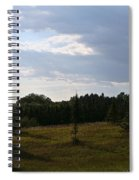 Late Summer Shadows Spiral Notebook