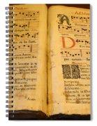 Latin Hymnal 1700 Ad Spiral Notebook