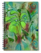 Laughing Lotus Spiral Notebook
