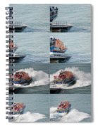 Launching The Lifeboat Spiral Notebook