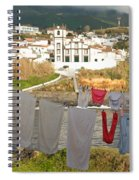 Laundry Day In Azores Spiral Notebook