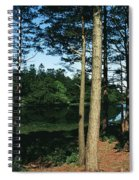 Lauragh, Co Kerry, Ireland Trees In A Spiral Notebook