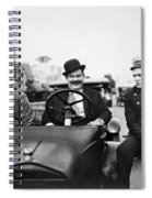 Laurel And Hardy, 1928 Spiral Notebook