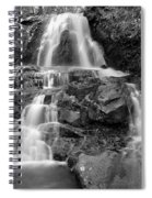 Laurel Falls In The Smoky Mountains Spiral Notebook