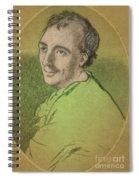 Laurence Eusden, English Poet Laureate Spiral Notebook