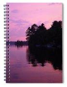 Lavender Lake Spiral Notebook