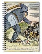 Lawrence Strike, 1912 Spiral Notebook