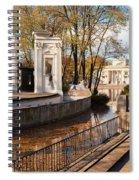 Lazienki Park In Warsaw Spiral Notebook