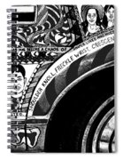 Le Car In Black And White Spiral Notebook