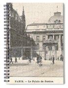 Le Palais De Justice Spiral Notebook