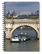 Le Pont Neuf . Paris. Spiral Notebook