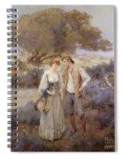 Le Retour De Cythere Spiral Notebook