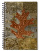 Leaf Life 01 -brown 01b2 Spiral Notebook