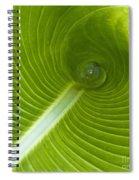 Leaf Tube Spiral Notebook