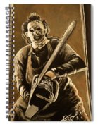 Leatherface Spiral Notebook