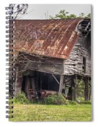 Leaning Barn 2 Spiral Notebook