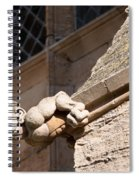 Leaning Over Spiral Notebook