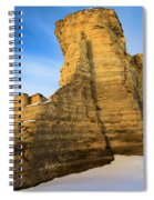Learn Tower Of Monument Rocks Spiral Notebook