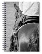 Leather Chaps Spiral Notebook