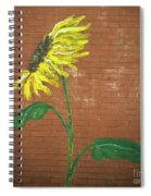 Leavenworth Sunflower  Spiral Notebook