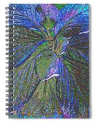 Leaves Of Blue Spiral Notebook