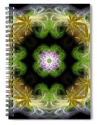 Leaves Of Gold Spiral Notebook
