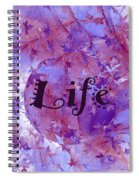 Leaves Of Life Spiral Notebook