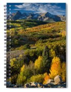 Leaves Turning At Dallas Divide Spiral Notebook