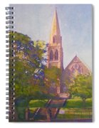 Leckie Memorial  Church  Peebles Scotland Spiral Notebook
