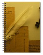 Ledgers And Keys Spiral Notebook