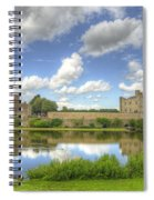 Leeds Castle Reflected Spiral Notebook