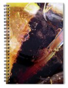 Lemon And Straw Spiral Notebook
