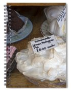 Lemon Pie And Pastries Spiral Notebook