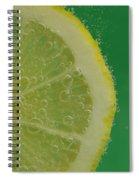Lemon Slice Soda 1 Spiral Notebook