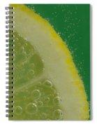 Lemon Slice Soda 2 Spiral Notebook