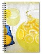 Lemonade And Summertime Spiral Notebook
