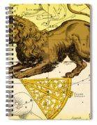 Leo, The Hevelius Firmamentum, 1690 Spiral Notebook