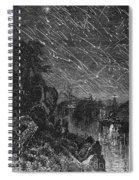 Leonid Meteor Shower, 1833 Spiral Notebook