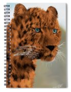 Leopard - Featured In The Group Wildlife Spiral Notebook