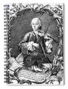 Leopold Mozart (1719-1787) Spiral Notebook