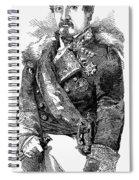 Leopoldo Odonnell Spiral Notebook