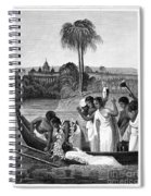 Leper, 1837 Spiral Notebook