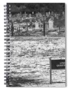 Leper Graveyard On Robben Island Spiral Notebook