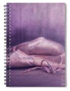 Les Chaussures De La Danseue Spiral Notebook